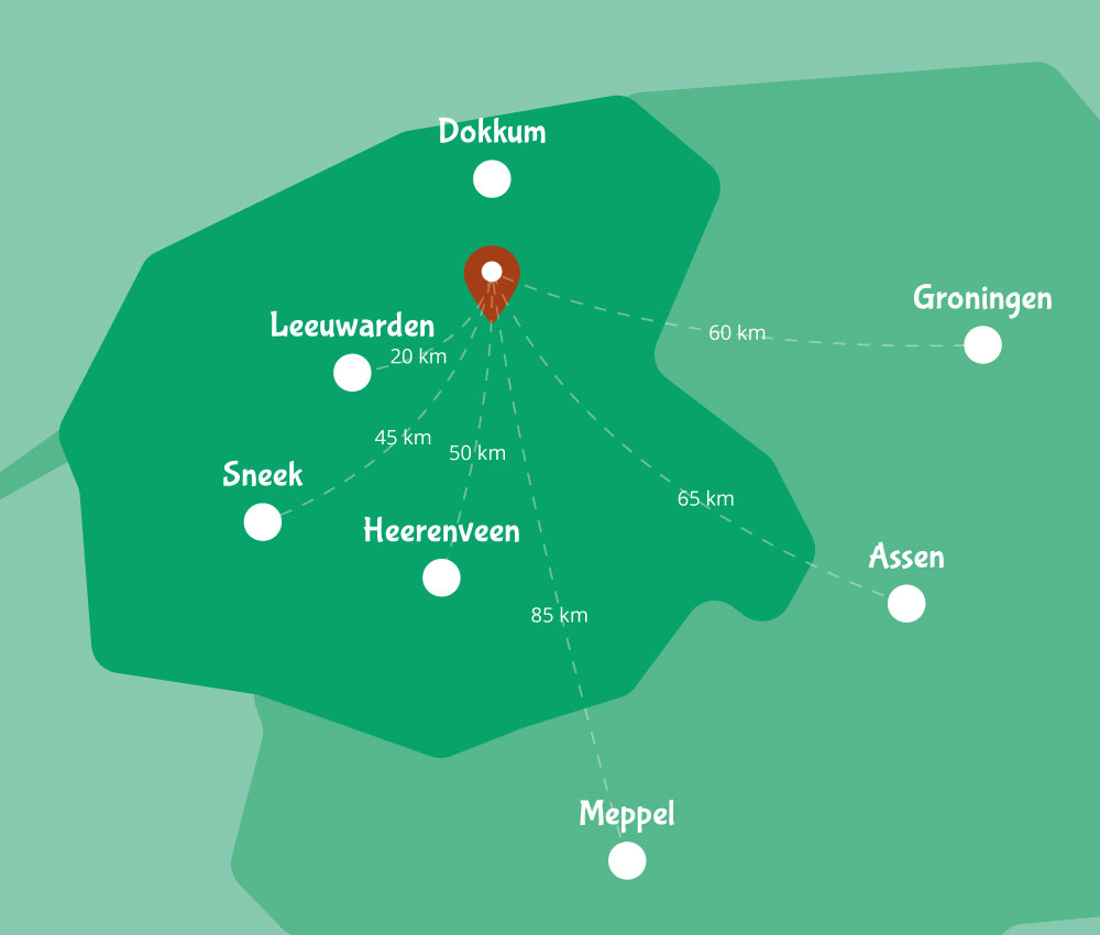 Map Sanjes-Safari